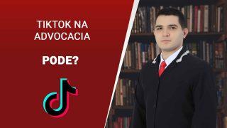 Advogado tiktoker: OAB publica cartilha proibindo o uso do aplicativo, saiba mais