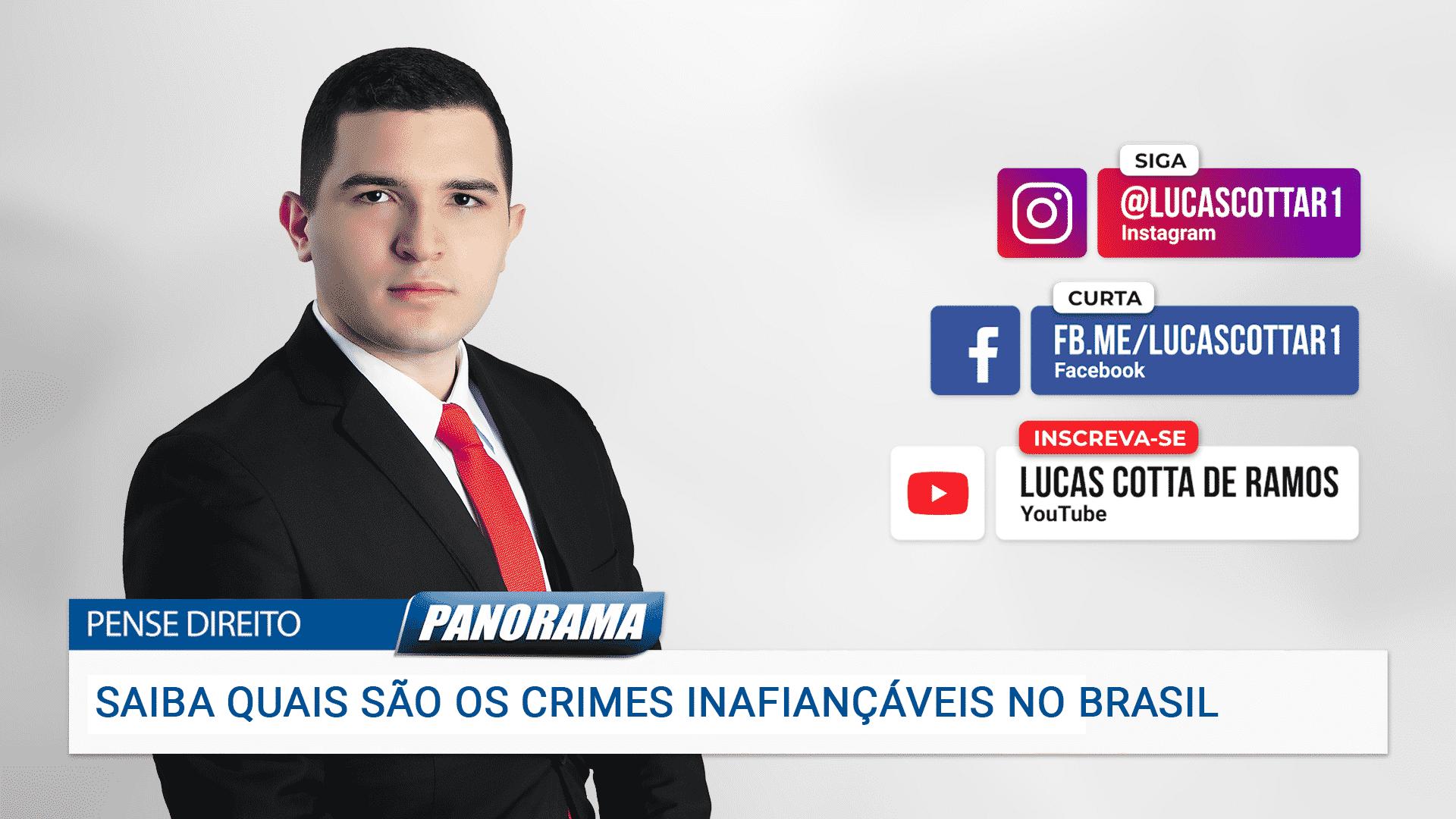 Saiba quais são os crimes inafiançáveis no Brasil