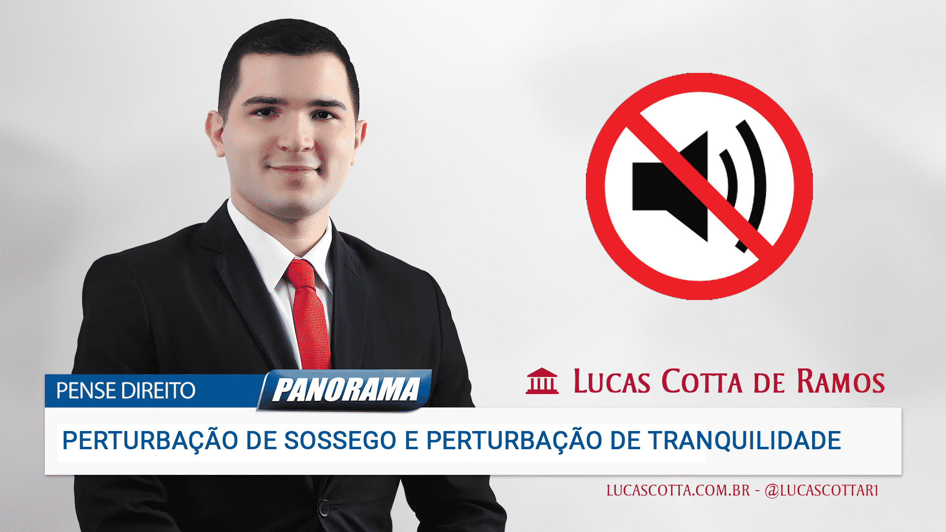 You are currently viewing Perturbação de sossego e perturbação de tranquilidade