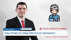 Read more about the article Se fui vítima de crime, preciso contratar advogado?