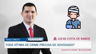 Se fui vítima de crime, preciso contratar advogado?