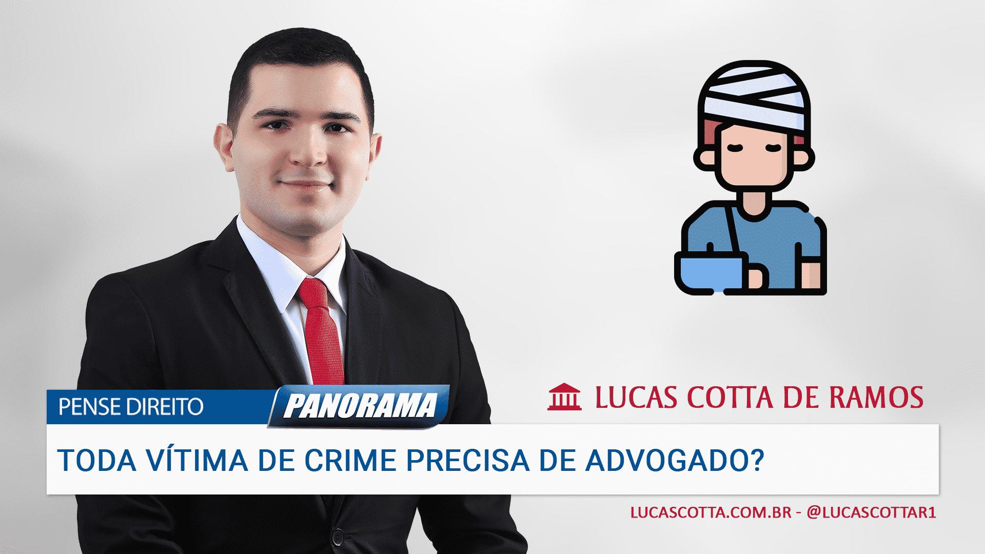You are currently viewing Se fui vítima de crime, preciso contratar advogado?